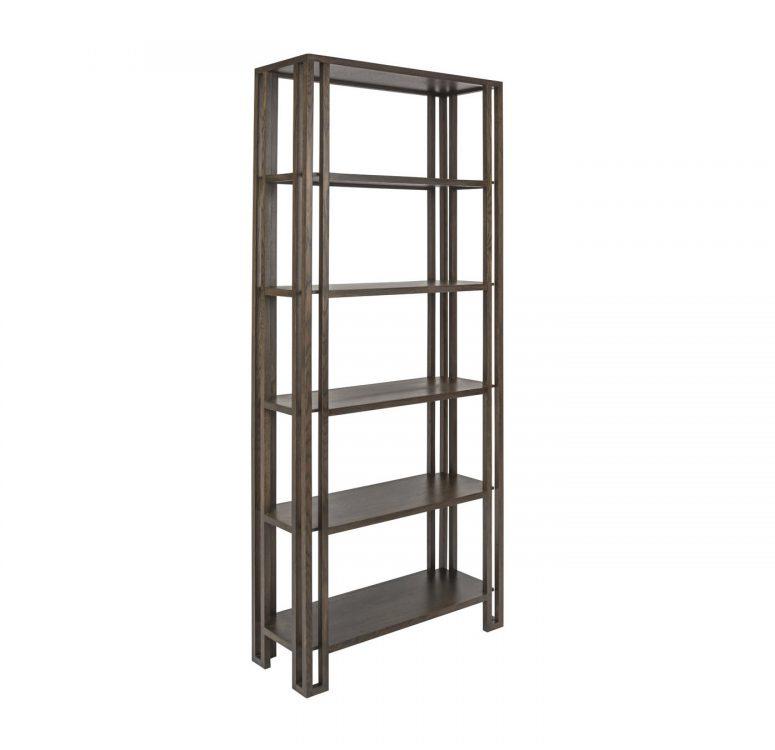 Custom: oak shelves