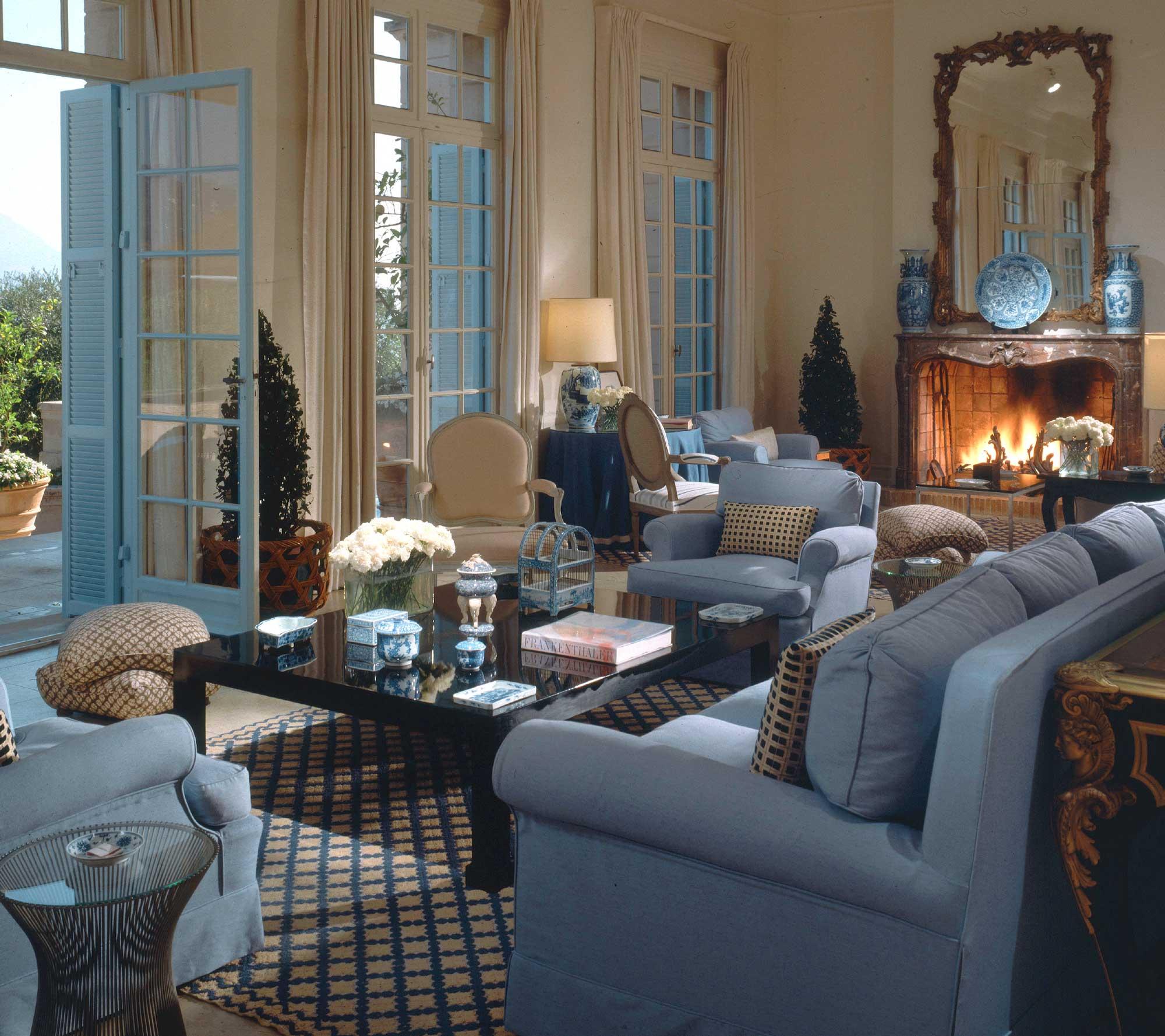 Incroyable La Fiorentina Salon As Designed By Billy Baldwin